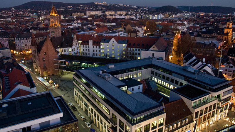 Büro+Service im Rathaus-Carrée Saarbrücken